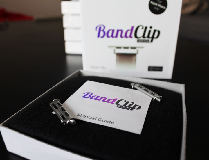 First version of BandClip packaging
